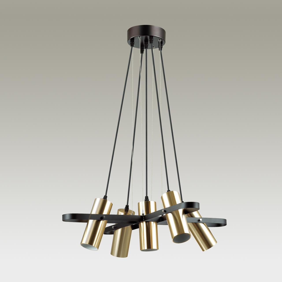 3714/5A MODERNI LN18 91 золотой, чёрный Люстра GU10 5*5W 220V CLAIRE