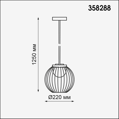 358288 STREET NT19 000 темно-серый Ландшафтный подвесной светильник IP65 LED 4000K 7W 220-240V CARRE