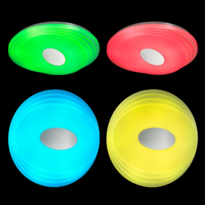 3027/DL SN 022 св-к SEKA пластик LED 48Вт 3000-6500K D380 IP43 пульт ДУ/RGB