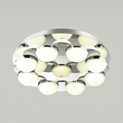 4106/64CL L-VISION ODL19 82 хром/белый Потолочный светильник LED 64W CONTI