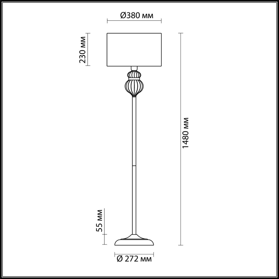4687/1F CLASSIC ODL20 501 хром/
