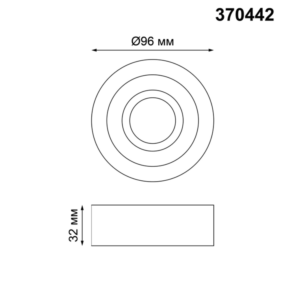 370442 SPOT NT19 114 золото Встраиваемый светильник IP20 GU10 50W 220V LILAC