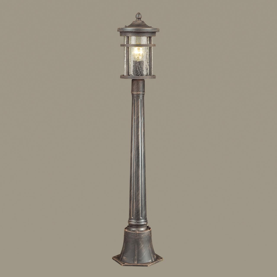 4044/1F NATURE ODL18 711 черный/патина Уличный светильник, 103см IP44 E27 60W 220V VIRTA