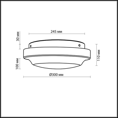 2760/2C DROPS ODL15 660 белое стекло Н/п светильник IP44 E27 2*60W 220V TAVOY