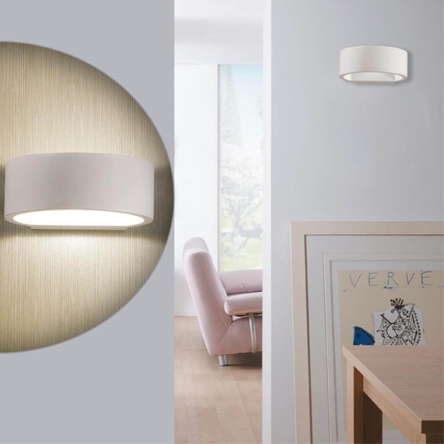 3595/5WL HIGHTECH ODL18 124 белый Настенный светильник IP20 LED 3000K 5W 450Лм 220V MURALIA