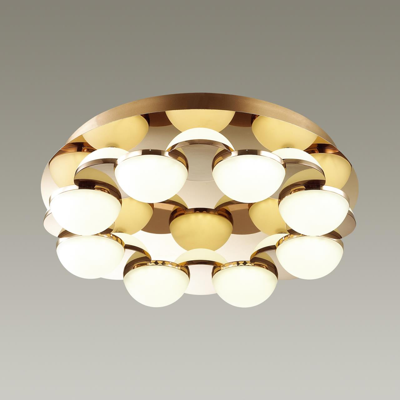 4105/64CL L-VISION ODL19 83 золото/белый Потолочный светильник LED 64W CONTI