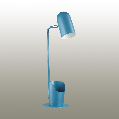 3690/1T DESK LN18 273 матовый синий Настольная лампа E27 40W 220V EJEN