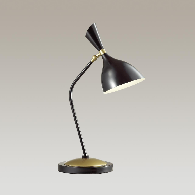 4665/1T HALL ODL20 430 золотой/черный Настольная лампа E14 1*40W 220V RASTO